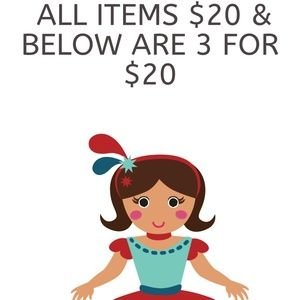 Bundle 3 items that are priced $20